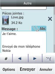 Nokia Asha 300 - E-mail - envoyer un e-mail - Étape 16