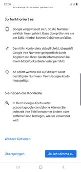 Samsung Galaxy Note 10 - Apps - Einrichten des App Stores - Schritt 14