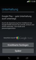 Sony Xperia E1 - Apps - Konto anlegen und einrichten - 21 / 23