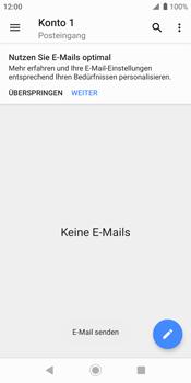 Sony Xperia XZ2 - Android Pie - E-Mail - E-Mail versenden - Schritt 17