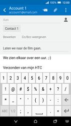 HTC One A9 - e-mail - hoe te versturen - stap 10