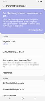 Samsung Galaxy A80 - Internet et roaming de données - Configuration manuelle - Étape 26