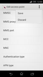 Sony D2203 Xperia E3 - MMS - Manual configuration - Step 15