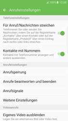Samsung Galaxy S6 Edge - Anrufe - Anrufe blockieren - 6 / 12