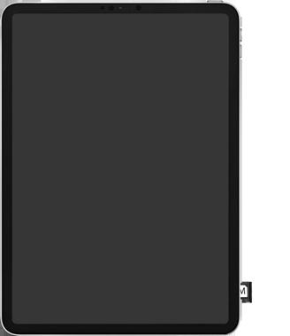 Apple ipad-pro-10-5-inch-met-ipados-13-model-a1709 - Instellingen aanpassen - SIM-Kaart plaatsen - Stap 5