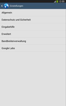 Samsung Galaxy Tab 3 8-0 LTE - Internet und Datenroaming - Manuelle Konfiguration - Schritt 22