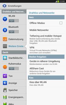 Samsung N5100 Galaxy Note 8-0 - Netzwerk - Netzwerkeinstellungen ändern - Schritt 5