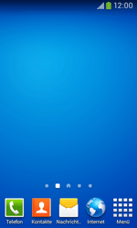 Samsung Galaxy Ace III - Startanleitung - Installieren von Widgets und Apps auf der Startseite - Schritt 10