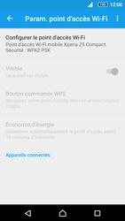 Sony Xperia Z5 Compact - Internet et connexion - Partager votre connexion en Wi-Fi - Étape 7