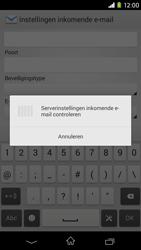 Sony Xperia M2 (D2303) - E-mail - Handmatig instellen - Stap 11