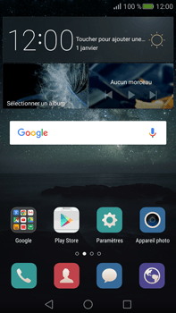 Huawei Mate S - SMS - Configuration manuelle - Étape 2