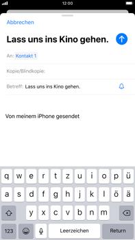Apple iPhone 7 Plus - iOS 13 - E-Mail - E-Mail versenden - Schritt 7
