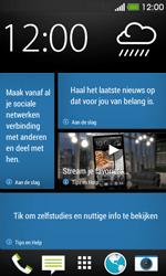 HTC Desire 500 - Internet - Voorbeelden van mobiele sites - Stap 1