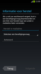 Samsung I9305 Galaxy S III LTE - Applicaties - Account aanmaken - Stap 8