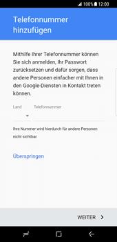 Samsung Galaxy S8 - Apps - Konto anlegen und einrichten - 14 / 19