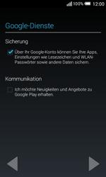 Alcatel OT-5050X Pop S3 - Apps - Konto anlegen und einrichten - Schritt 15
