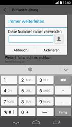 Huawei Ascend P6 LTE - Anrufe - Rufumleitungen setzen und löschen - Schritt 7