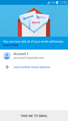 Samsung A300FU Galaxy A3 - E-mail - Manual configuration (gmail) - Step 15