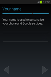 Samsung Galaxy Fame Lite - Applications - Setting up the application store - Step 8