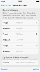 Apple iPhone 5 - Apps - Konto anlegen und einrichten - 24 / 36
