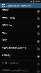 Samsung SM-G3815 Galaxy Express 2 - MMS - Manuelle Konfiguration - Schritt 13