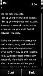 Nokia 500 - E-mail - Manual configuration - Step 6