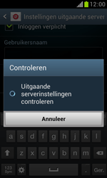 Samsung S7560 Galaxy Trend - E-mail - Handmatig instellen - Stap 17