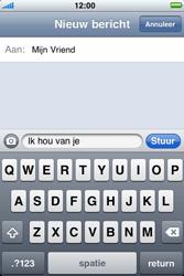 Apple iPhone 4 - MMS - afbeeldingen verzenden - Stap 6