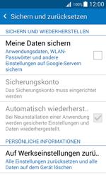 Samsung Galaxy J1 - Fehlerbehebung - Handy zurücksetzen - 0 / 0