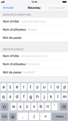 Apple iPhone 6s iOS 11 - E-mail - configuration manuelle - Étape 12