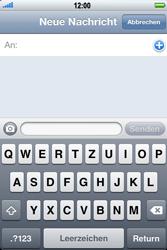 Apple iPhone 3GS - MMS - Erstellen und senden - 6 / 16