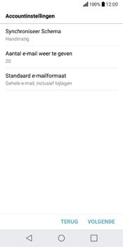 LG Q6 (M700) - E-mail - Account instellen (POP3 zonder SMTP-verificatie) - Stap 17