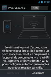 Bouygues Telecom Bs 351 - Internet et connexion - Partager votre connexion en Wi-Fi - Étape 5