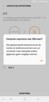 Samsung galaxy-j4-plus-dual-sim-sm-j415fn - Contacten en data - Contacten kopiëren van toestel naar SIM - Stap 13