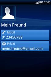 Sony Ericsson Xperia X8 - MMS - Erstellen und senden - Schritt 8