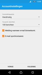 Sony Xperia M5 - E-mail - Account instellen (POP3 zonder SMTP-verificatie) - Stap 19