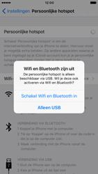 Apple iPhone 6s iOS 10 - WiFi - WiFi hotspot instellen - Stap 10