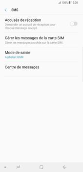 Samsung Galaxy S9 Plus - SMS - Configuration manuelle - Étape 8