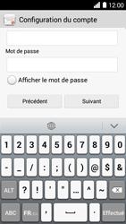 Huawei Ascend Y530 - E-mail - Configurer l