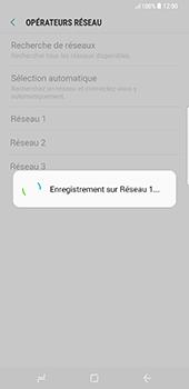 Samsung Galaxy S8 Plus - Réseau - Sélection manuelle du réseau - Étape 10
