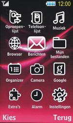 Samsung S7350 Ultra Slide - E-mail - Hoe te versturen - Stap 3