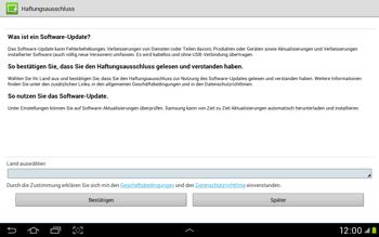 Samsung Galaxy Tab 2 10.1 - Software - Installieren von Software-Updates - Schritt 8