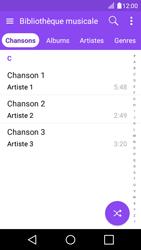 LG K4 - Photos, vidéos, musique - Ecouter de la musique - Étape 4