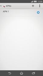 Sony Xperia Z2 - Internet - Apn-Einstellungen - 1 / 1