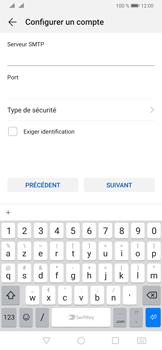 Huawei P30 - E-mail - configuration manuelle - Étape 16