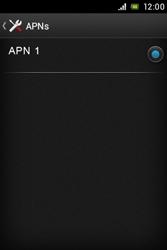 Sony Xperia E - MMS - Manuelle Konfiguration - Schritt 7