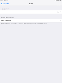 Apple ipad-air-2-ios-12 - E-mail - Account instellen (POP3 met SMTP-verificatie) - Stap 20