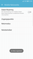Samsung Galaxy S7 Edge - Netzwerk - manuelle Netzwerkwahl - Schritt 12