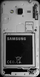 Samsung Galaxy J3 (SM-J320FN) - Instellingen aanpassen - SIM-Kaart plaatsen - Stap 3