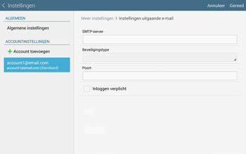 Samsung Galaxy Tab S 10.5 4G (SM-T805) - E-mail - Instellingen KPNMail controleren - Stap 17